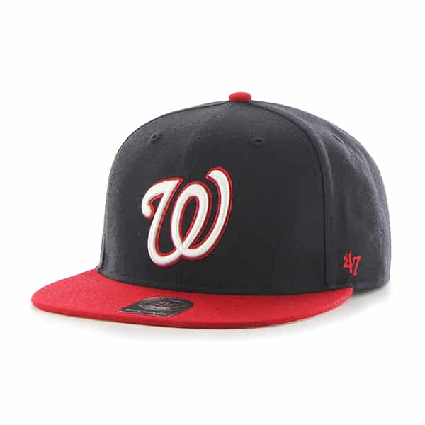 Washington Nationals Sure Shot Two Tone Captain Navy 47 Brand Adjustable Hat