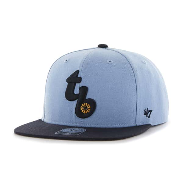 Tampa Bay Rays Sure Shot Two Tone Captain Columbia 47 Brand Adjustable Hat