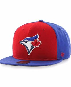 Toronto Blue Jays Sure Shot Accent Captain Royal 47 Brand Adjustable Hat