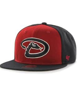 Arizona Diamondbacks Sure Shot Accent Captain Black 47 Brand Adjustable Hat