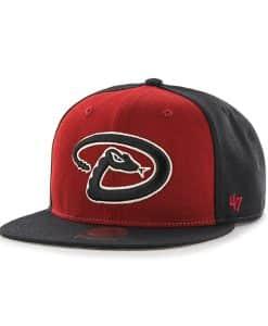 Arizona Diamondbacks Sure Shot Accent Captain Black 47 Brand Adjustable Hat