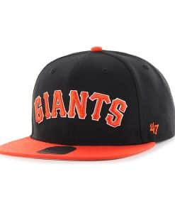San Francisco Giants Script Side Two Tone Captain Black 47 Brand Adjustable Hat
