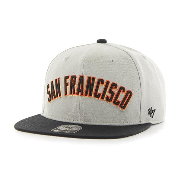 San Francisco Giants Script Side Two Tone Captain Gray 47 Brand Adjustable Hat
