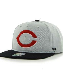 Cincinnati Reds Satchel Gray 47 Brand Adjustable Hat