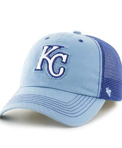Kansas City Royals Taylor Closer Columbia 47 Brand Stretch Fit Hat