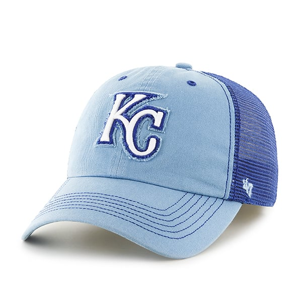 Kansas City Royals Taylor Closer Columbia 47 Brand Stretch Fit Hat