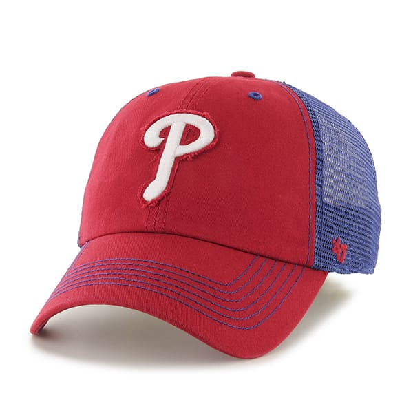 Philadelphia Phillies Taylor Closer Red 47 Brand Stretch Fit Hat