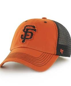 San Francisco Giants Taylor Closer Orange 47 Brand Stretch Fit Hat