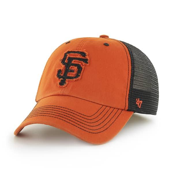 San Francisco Giants Taylor Closer Orange 47 Brand Stretch Fit Hat