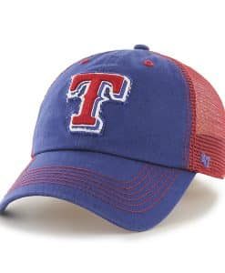 Texas Rangers Taylor Closer Royal 47 Brand Stretch Fit Hat