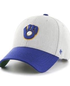Milwaukee Brewers Thurman MVP Gray 47 Brand YOUTH Hat