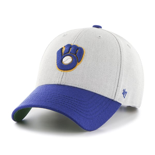 Milwaukee Brewers Thurman MVP Gray 47 Brand YOUTH Hat