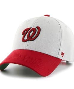 Washington Nationals Thurman MVP Gray 47 Brand YOUTH Hat