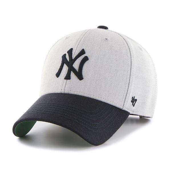 New York Yankees Thurman MVP Gray 47 Brand YOUTH Hat - Detroit Game Gear c238bc40816f
