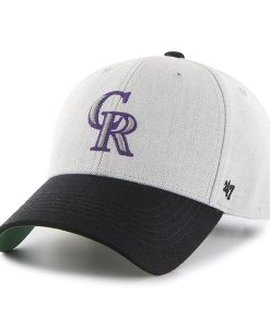 Colorado Rockies Thurman MVP Gray 47 Brand YOUTH Hat