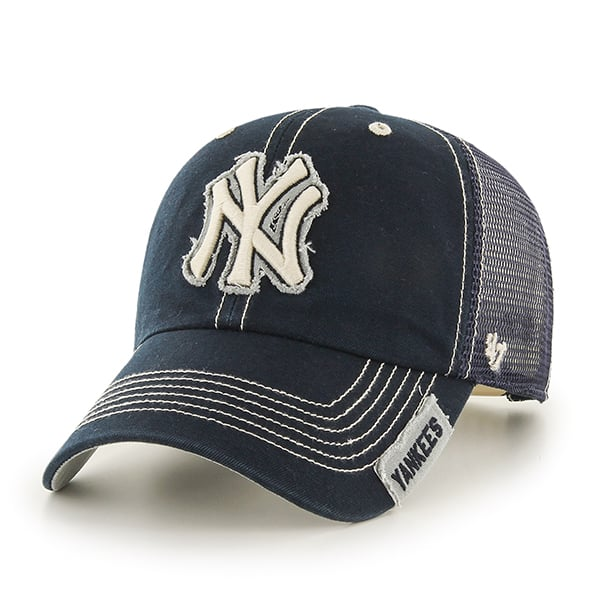 reputable site 623dd 331e4 New York Yankees Turner Clean Up Navy 47 Brand Adjustable Hat - Detroit  Game Gear