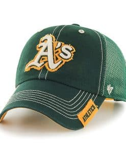 Oakland Athletics Turner Clean Up Dark Green 47 Brand Adjustable Hat
