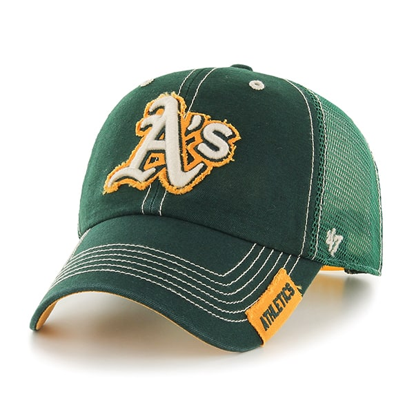 Oakland Athletics Turner Clean Up Dark Green 47 Brand Adjustable Hat