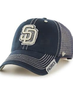 San Diego Padres Turner Clean Up Navy 47 Brand Adjustable Hat
