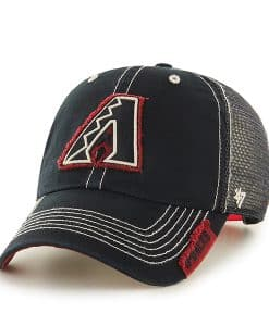 Arizona Diamondbacks Turner Clean Up Black 47 Brand Adjustable Hat