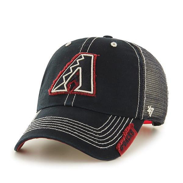 Arizona Diamondbacks Turner Clean Up Black 47 Brand Adjustable Hat