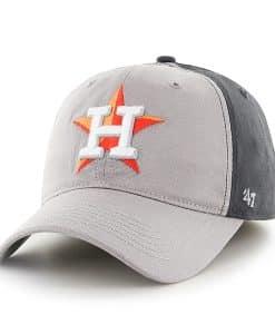 Houston Astros Umbra Closer Dark Charcoal 47 Brand Stretch Fit Hat