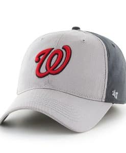 Washington Nationals Umbra Closer Dark Charcoal 47 Brand Stretch Fit Hat