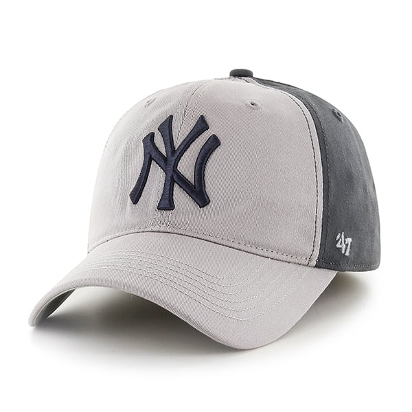 New York Yankees Umbra Closer Dark Charcoal 47 Brand Stretch Fit Hat