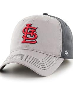St. Louis Cardinals Umbra Closer Dark Charcoal 47 Brand Stretch Fit Hat