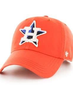 Houston Astros Woodall Clean Up Orange 47 Brand Adjustable Hat