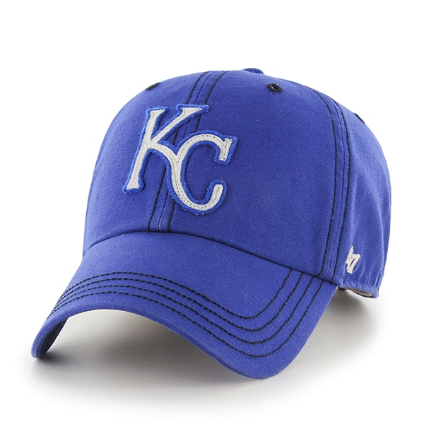 Kansas City Royals Woodall Clean Up Royal 47 Brand Adjustable Hat