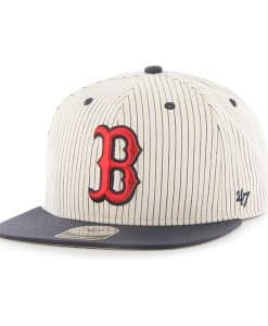 Boston Red Sox Woodside Captain Navy 47 Brand Adjustable Hat