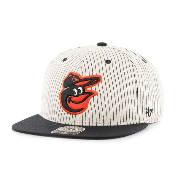Baltimore Orioles Woodside Captain Black 47 Brand Adjustable Hat