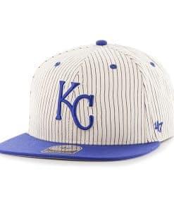 Kansas City Royals Woodside Captain Navy 47 Brand Adjustable Hat