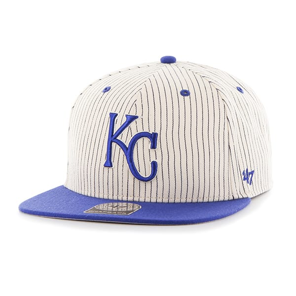 Kansas City Royals Woodside Captain Navy 47 Brand Adjustable Hat