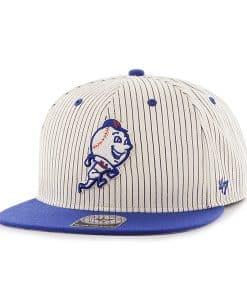 New York Mets Woodside Captain Navy 47 Brand Adjustable Hat