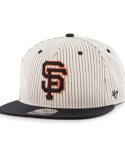 San Francisco Giants Woodside Captain Black 47 Brand Adjustable Hat