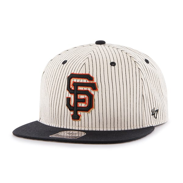 San Francisco Giants Woodside Captain Black 47 Brand Adjustable Hat