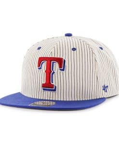 Texas Rangers Woodside Captain Navy 47 Brand Adjustable Hat