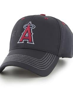 Los Angeles Angels Wraith Black 47 Brand Adjustable Hat
