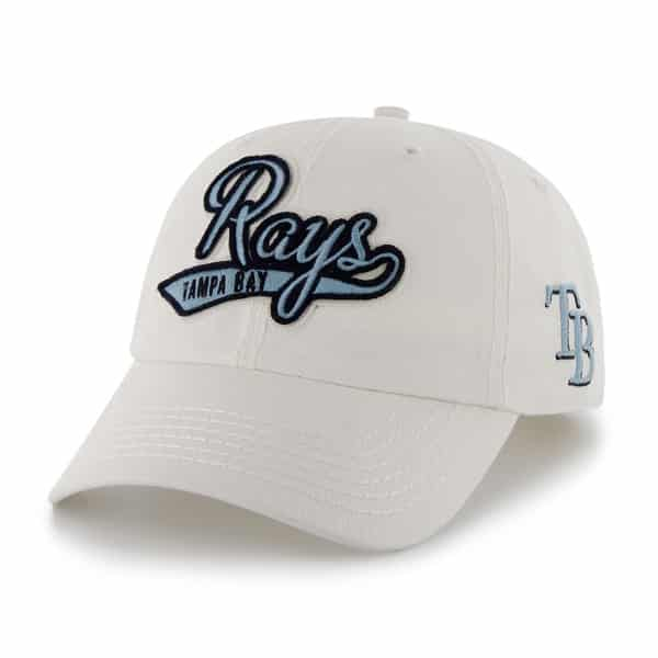 Tampa Bay Rays Women's Whiplash Clean White 47 Brand Womens Hat