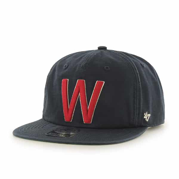 Washington Nationals Baseball United Cobb Captain Rf Fall Navy 47 Brand Adjustable Hat