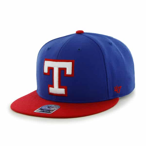Texas Rangers Big Shot Royal 47 Brand Adjustable Hat