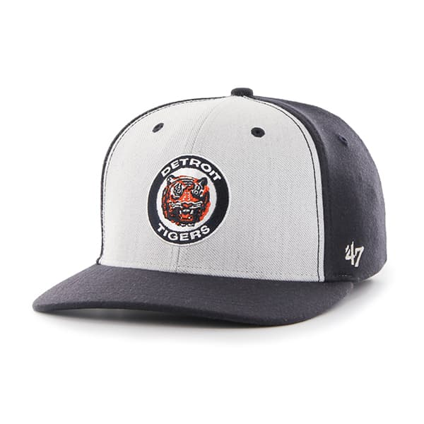 Detroit Tigers Backstop Contender Mf Navy 47 Brand Stretch Fit Hat
