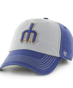 Seattle Mariners Mcgraw Clean Up Royal 47 Brand Adjustable Hat