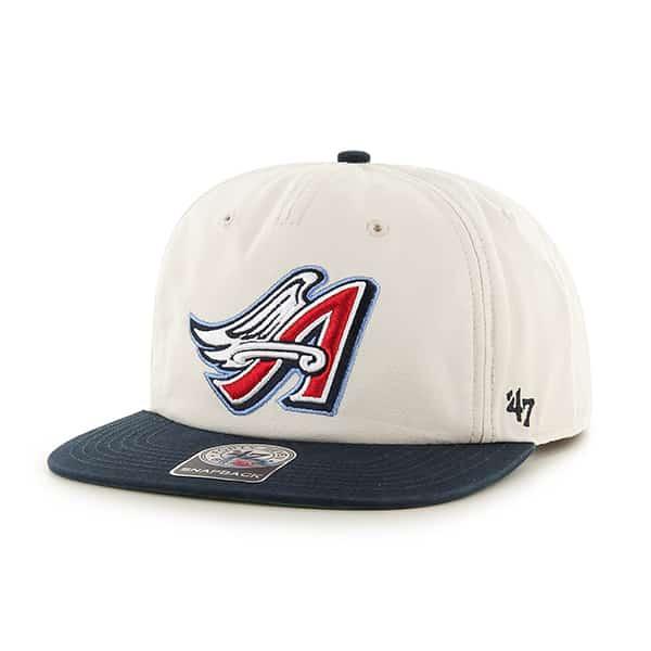 Los Angeles Angels Marvin Captain Rf Natural 47 Brand Adjustable Hat