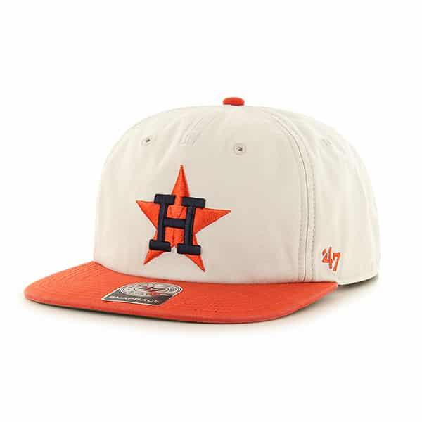 222435d1d Houston Astros Marvin Captain Rf Natural 47 Brand Adjustable Hat