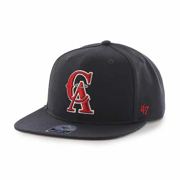 Los Angeles Angels Sure Shot Navy 47 Brand Adjustable Hat