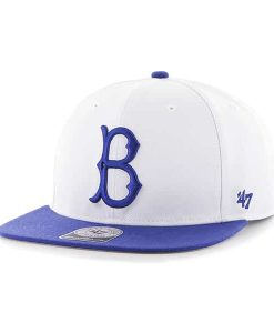Los Angeles Dodgers Sure Shot Two Tone Captain White 47 Brand Adjustable Hat