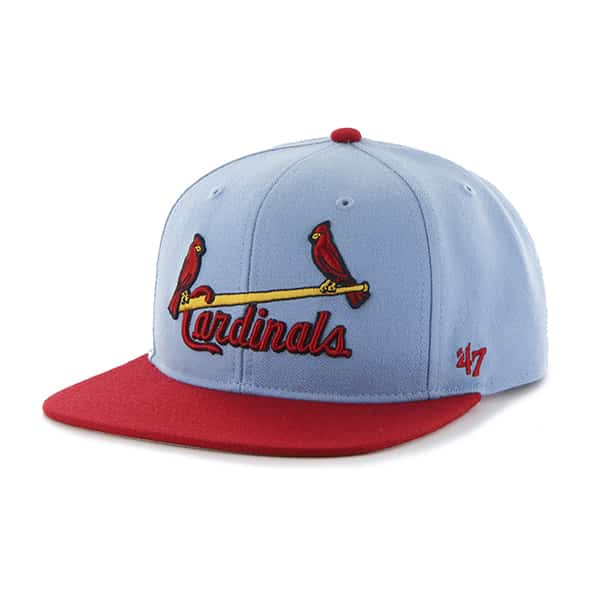 St. Louis Cardinals Sure Shot Two Tone Captain Columbia 47 Brand Adjustable Hat